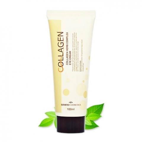 Esthetic House Collagen Herb Complex Eye Cream крем для век с коллагеном и растительными экстрактами