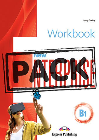 New Enterprise B1 - workbook (with Digibooks App) - рабочая тетрадь с электронным приложением