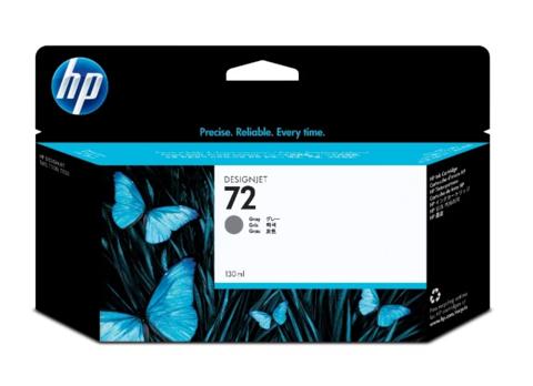 Оригинальный картридж струйный HP C9374A (№72), серый