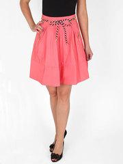 3056-2 юбка женская, розовая