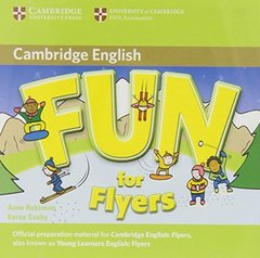 Fun for Starters, Movers and Flyers 2Ed  Flyers  Audio CDs (2) !!