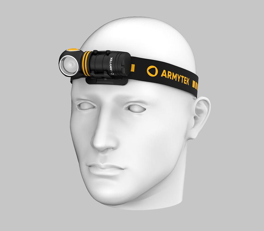 Налобный LED-фонарь Armytek Elf C1 Micro USB - фото 1