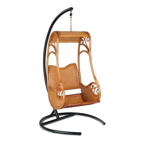 Кресло подвесное HANGING 003, тёмный мёд