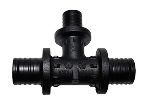 Тройник Rehau PX 32-16-32 с уменьшенным боковым проходом (арт. 11600641001)