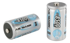 Аккумулятор D/NiMH ANSMANN MaxE 1.2V 8500mAh