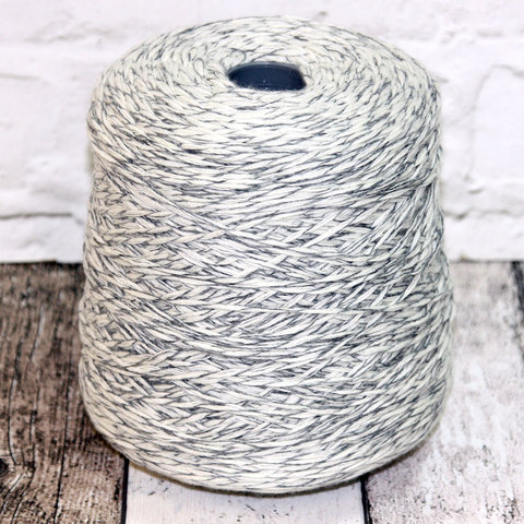Меринос с кашемиром (30%) ZEGNA BARUFFA BABA 8/15 бело-серый