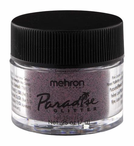 MEHRON Рассыпчатые блестки Paradise Glitter, Cabernet (Каберне), 7 г