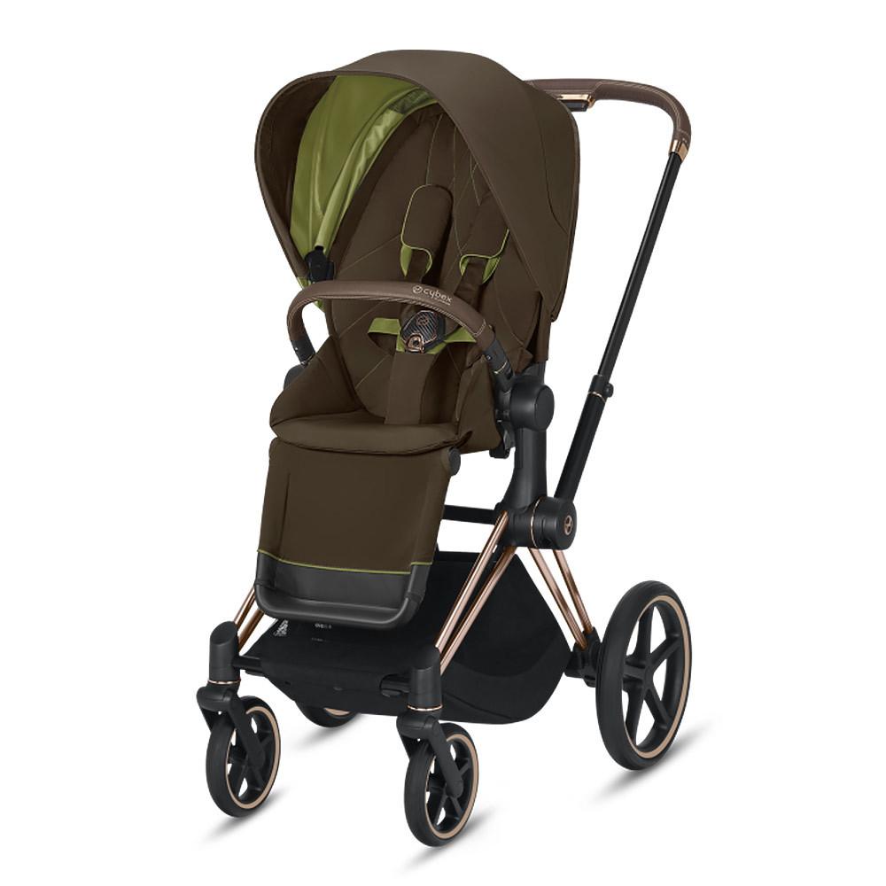 Прогулочная коляска Cybex Priam III 2020 Прогулочная коляска Cybex Priam III Khaki Green Rosegold cybex-priam-III-khaki-green-rosegold-2020.jpg