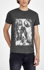 461493-18 футболка мужская, серый меланж