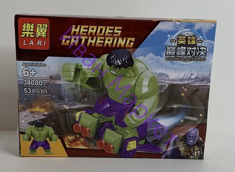 Супер Герои из мстителей 34080 Халк, 53 дет. Конструктор
