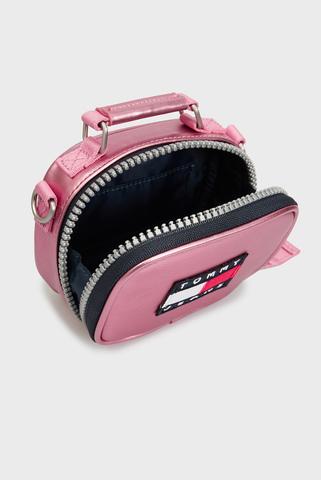 Женская розовая сумка TJW HERITAGE NANO BAG Tommy Hilfiger