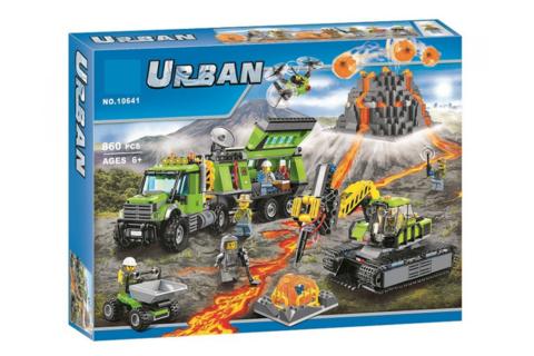 Конструктор Urban 10641 База исследователей вулканов