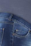 Джинсы для беременных (SLIM) 08906 синий