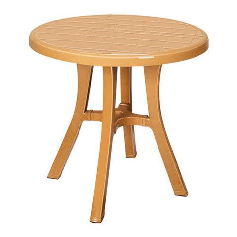 Пластиковый стол HM-510 TABLE ROYAL бежевый (Турция) МРК