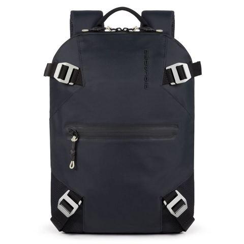 Рюкзак Piquadro, черный, 27х37х7 см