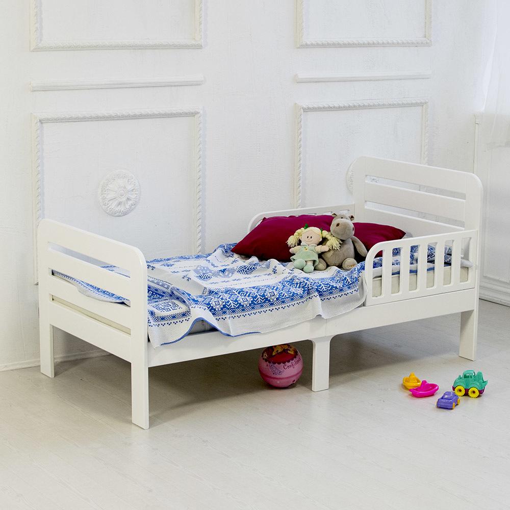 Кровать подростковая Охта Белая