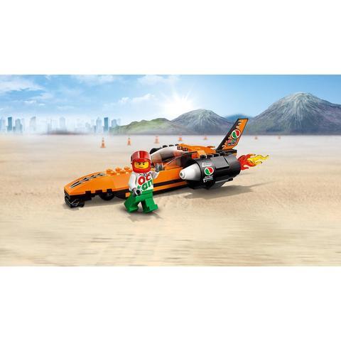 LEGO City: Гоночный автомобиль 60178 — Speed Record Car — Лего Сити Город