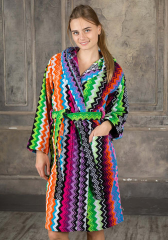 Оригинальный махровый халат