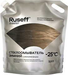 Концентрат жидкости для стеклоомывателя RUSEFF Master, -25°C, 3.5 л