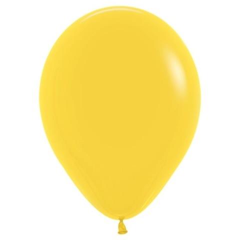 Шар Желтый, 30 см