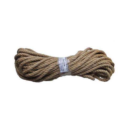 Веревка джутовая 10 мм х 20 м