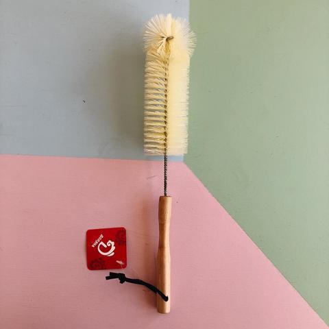 Ёршик для посуды с деревяной ручкой