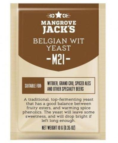 Пивные дрожжи Mangrove Jack's CS Yeast M21 Belgian wit