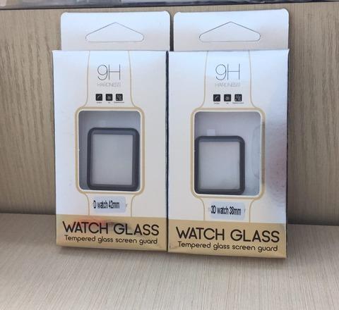 Стекло защитное 3D Apple watch 42mm /black/