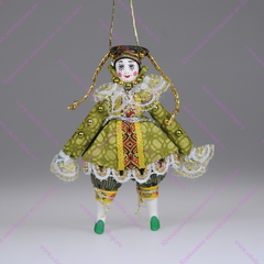 Ёлочная игрушка Девочка клоунесса