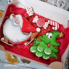 Дед Мороз №18 на коньках