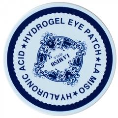 LA MISO Гидрогелевая маска с гиалуроновой кислотой для кожи вокруг глаз, 60ЕА
