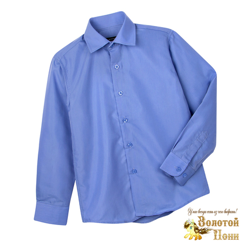 Рубашка школьная мальчику (116-164) 210531-Р2937