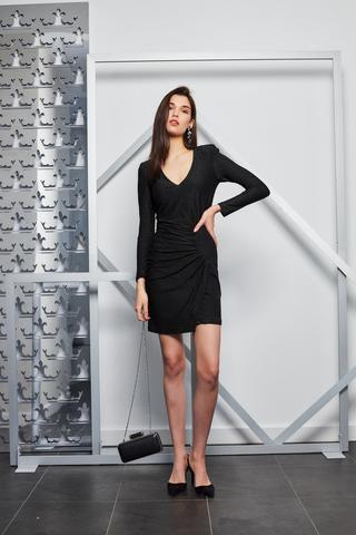 Liu Jo Платье облегающее с драпировкой