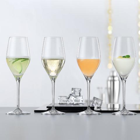 Бокалы для шампанского «Authentis», 4 шт, 270 мл
