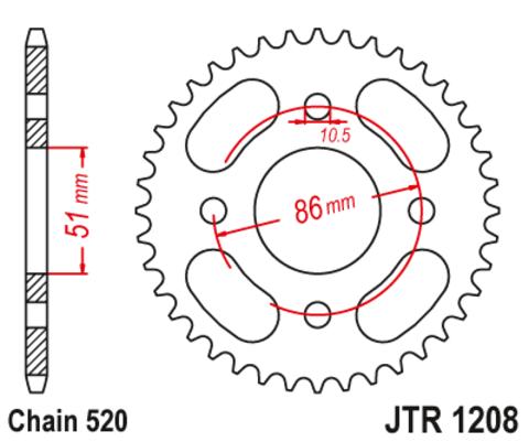 JTR1208