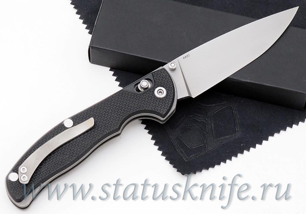 Нож Широгоров Табарган 100NS 440С G10 черная - фотография