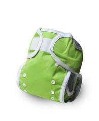 Непромокаемые пеленальные трусики, единый размер, лайм, 2 шт/уп