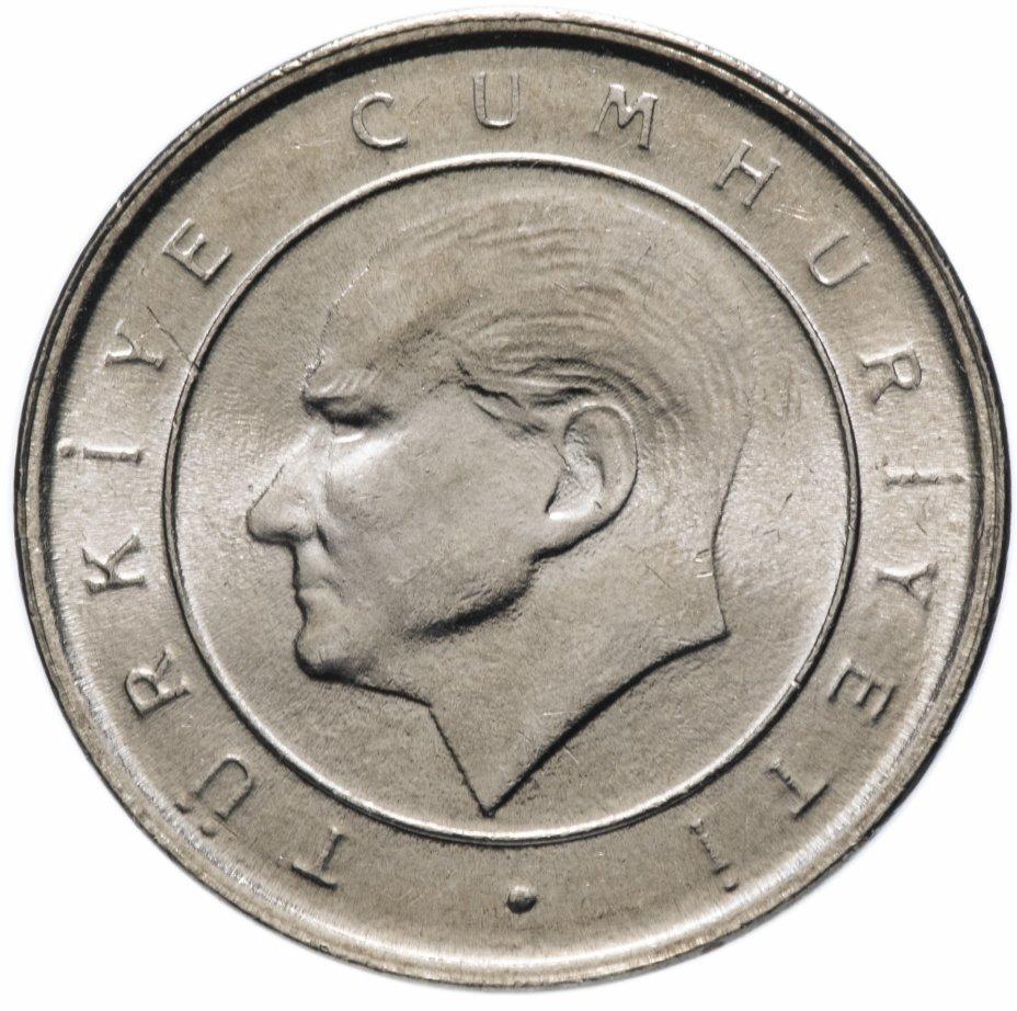 50000 лир. Турция. 2002 год. AU-UNC