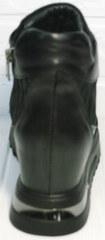 Женские ботильоны сникерсы Evromoda 965 Black