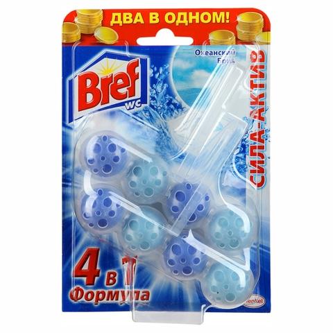 Средство чист BREF Сила-Актив д/унитаза Океан 2*51 гр РОССИЯ
