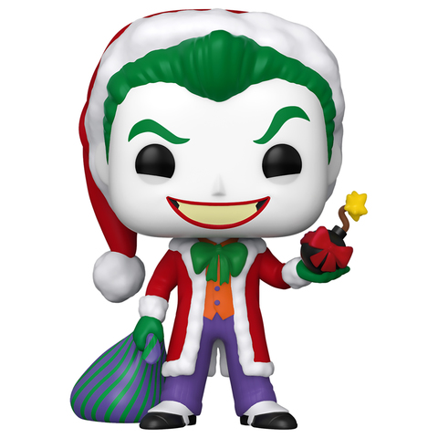 Фигурка Funko POP! Vinyl: DC: Holiday: Santa Joker 51071