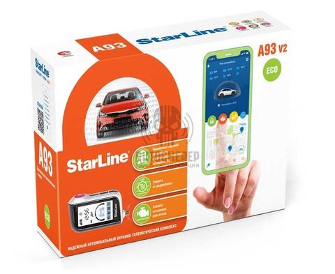 Автосигнализация StarLine A93v2 2CAN+2LIN ECO