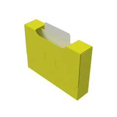 Органайзер для карт Uniq Card-File Standard - 20 mm (жёлтый)