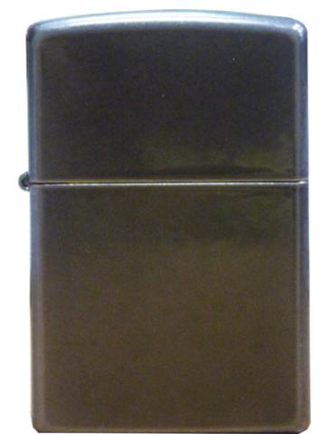 Зажигалка Zippo Classic с покрытием Gray Dusk , латунь/сталь, серая, матовая, 36x12x56 мм