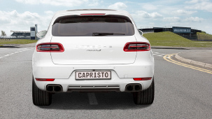 Capristo exhaust system for Porsche Macan Turbo