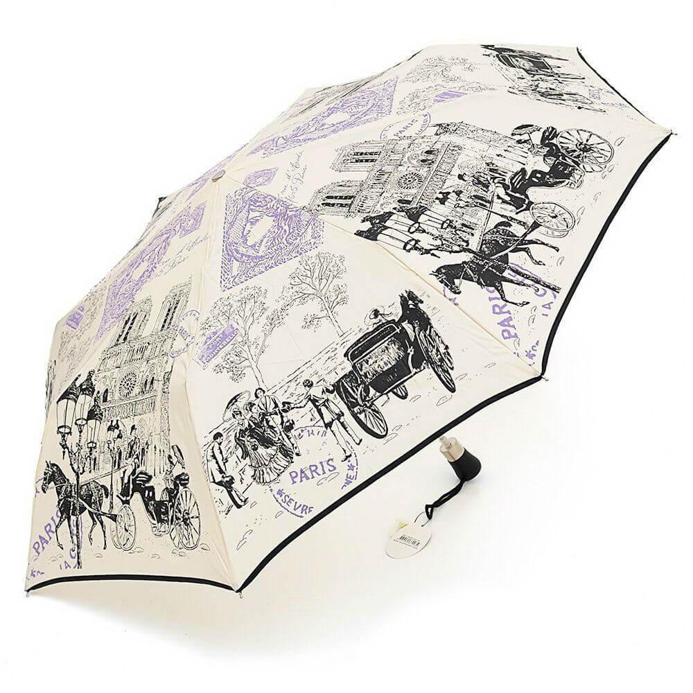 Зонт складной Guy de Jean 3405-16 Notre Dame