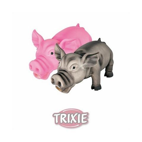 "Trixiе 35490 Игрушка д/собак ""свинка хрюкающая"", латекс 17см"