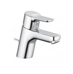 Смеситель для раковины однорычажный c донным клапаном Kludi Pure&Easy 373850565 фото