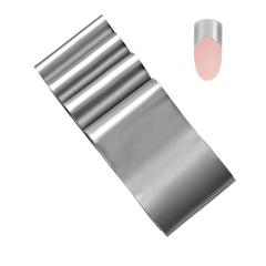 Fantasy Nails, Фольга №3, серебро матовая