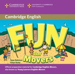 Fun for Starters, Movers and Flyers 2Ed  Movers  Audio CD !!